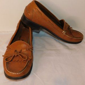 Etienne Aigner Leather Loafers Size 8M